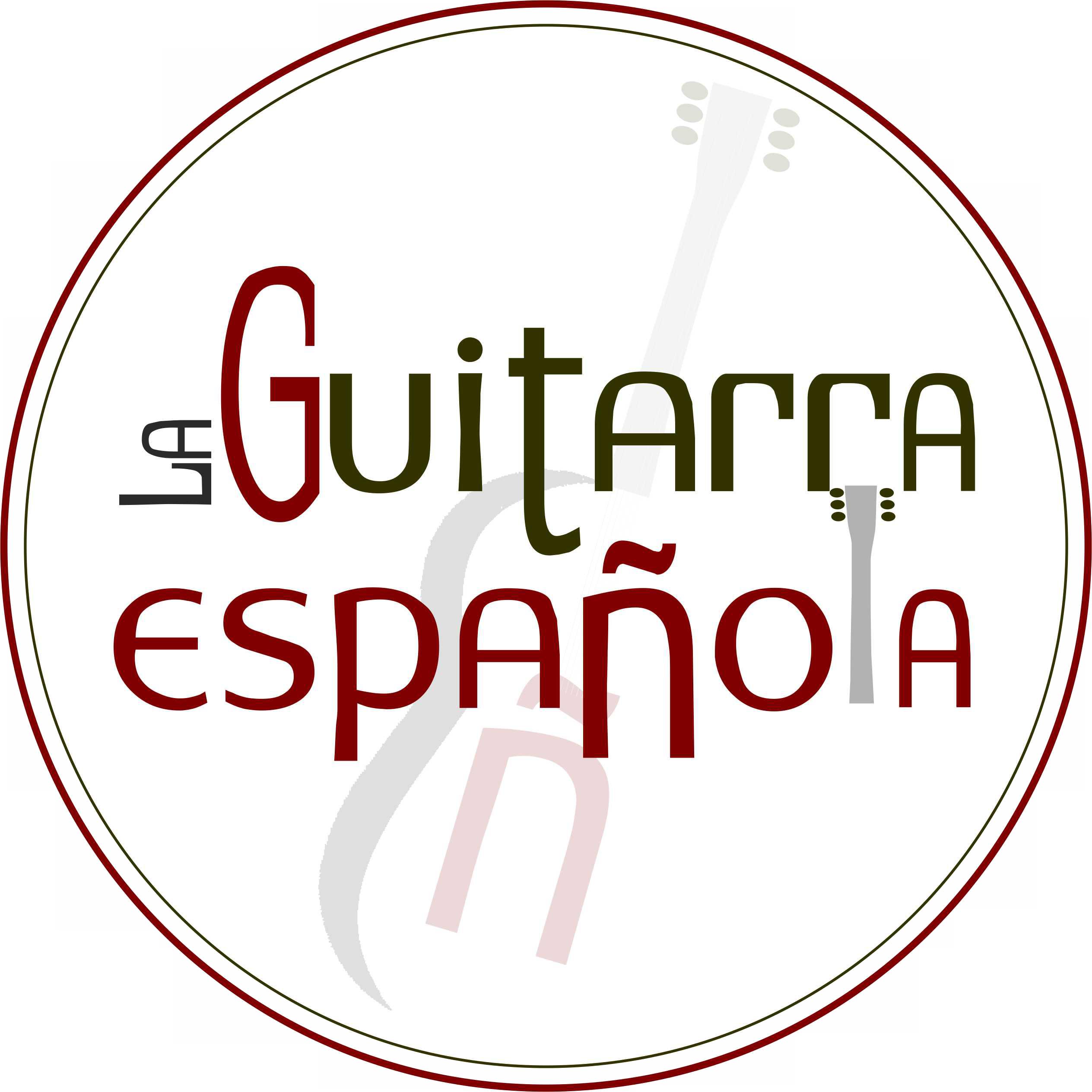 LOGOTIPO PARA LA GUITARRA ESPAÑOLA
